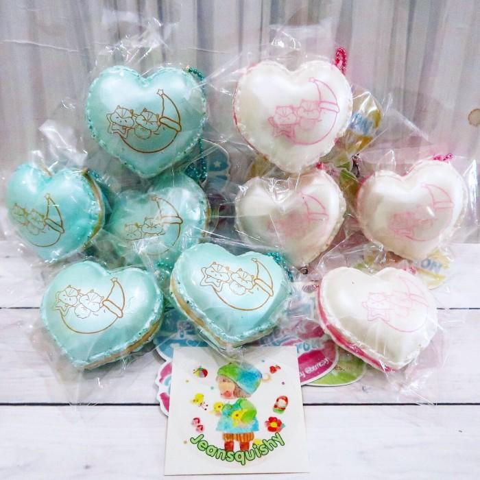harga Heart Macaroons By Popularbox Squishy Tokopedia.com