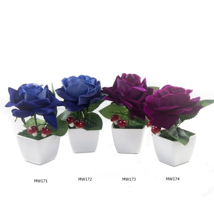 harga Buket bunga mawar beludru mw17 Tokopedia.com