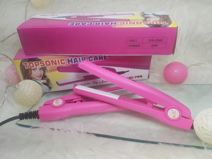 HAIDI - Catok Mini Catokan Rambut Lurus Curly Topsonic Hair Care Murah fb97f1ed6d