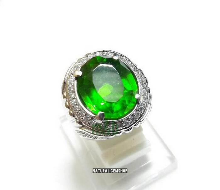 harga Murah cincin zamrud kalimantan kualitas no 1 ring alpaka mewah Tokopedia.com