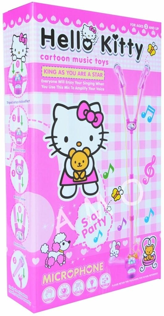 1d03feea3e Jual (Sale) MICROPHONE DOUBLE HELLO KITTY - bebi storez   Tokopedia