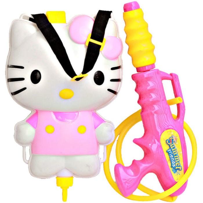 Foto Produk Mainan Pistol Air Tabung / Water Gun Ransel Karakter Hello Kitty dari kalarta shop