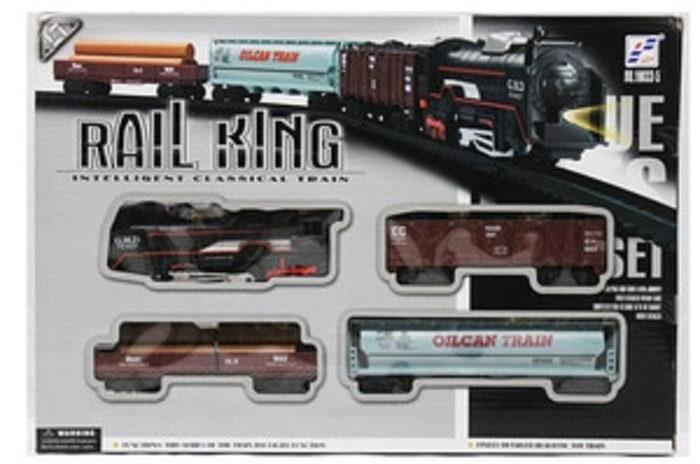 Foto Produk (Dijamin) Mainan Anak Kereta Api Train Rail King dari kalarta shop