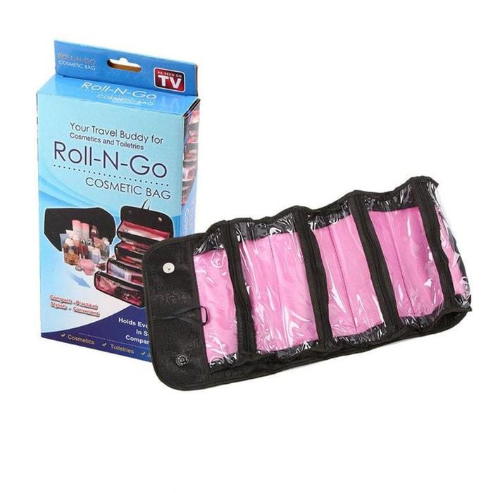 Roll N Go Makeup Organizer Tas Kosmetik Cosmetic Bag