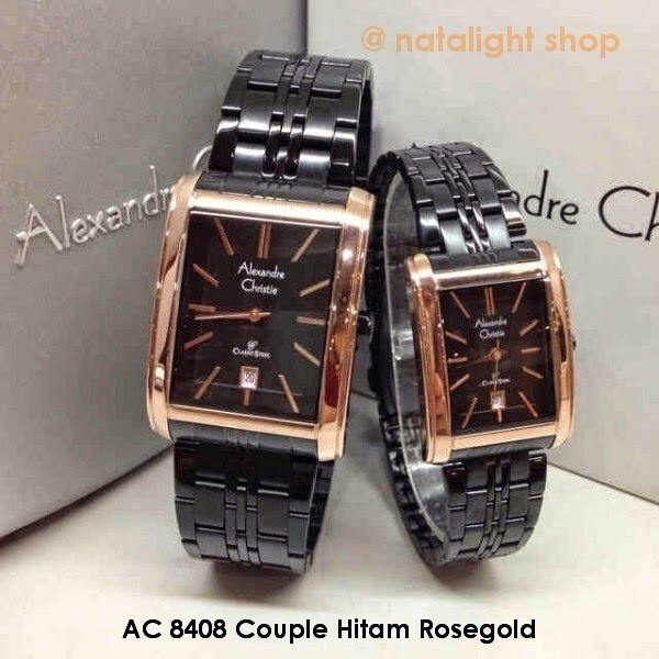 harga Jam tangan alexandre christie 8408 couple original Tokopedia.com