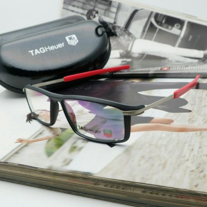 ... harga Kacamata frame baca pria dan wanita tagheuer 588 hitam ducati  Tokopedia.com 4f1b993967