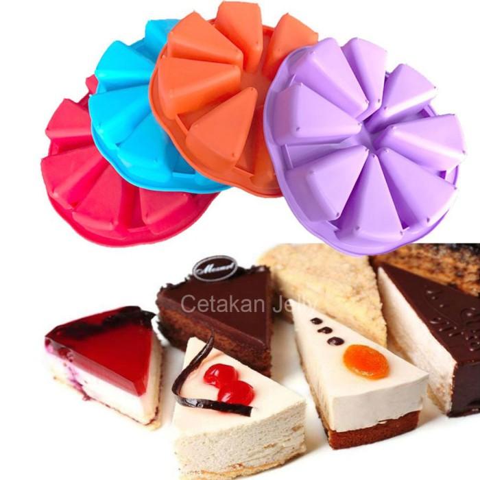 Cetakan kue / puding slice pan 8 cav