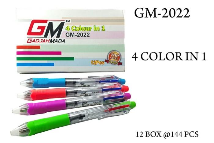 harga Alat tulis puplen warna 4 in 1 gm-2022 Tokopedia.com