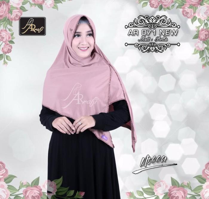 harga Jilbab instan ar71n (mocca)arrafi- bergo belah list / hijab / kerudung Tokopedia.com
