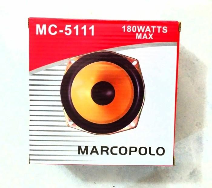 harga Marcopolo speaker subwoofer 5 inch 8 ohm 150 watt double magnet Tokopedia.com