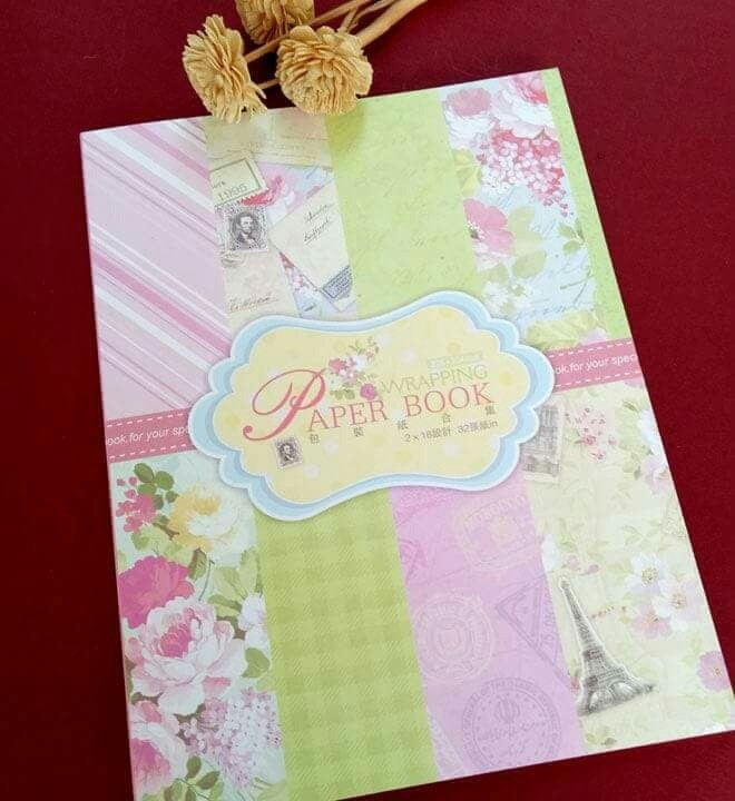 harga Kertas kado / elegant gift wrapping paper book - dreamy Tokopedia.com