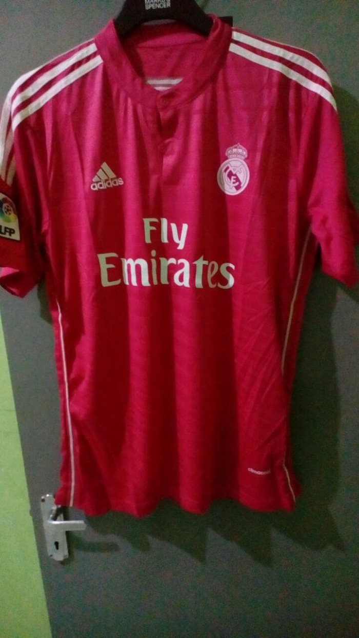 harga Jersey retro real madrid pink 14/15 2014 - 2015 Tokopedia.com