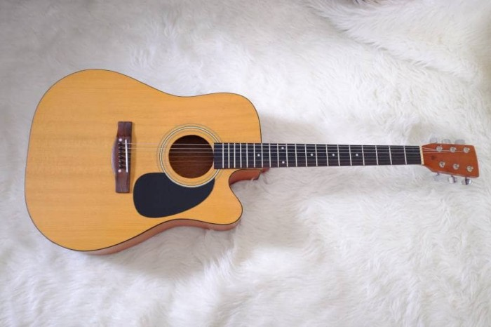 Foto Produk Gitar akustik NATURALDOFF PREMIUM SIPRUS WOOD dari JakartaUndercover.id