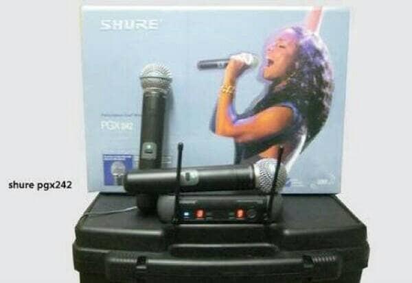 harga Mic wireless shure pgx-242 Tokopedia.com