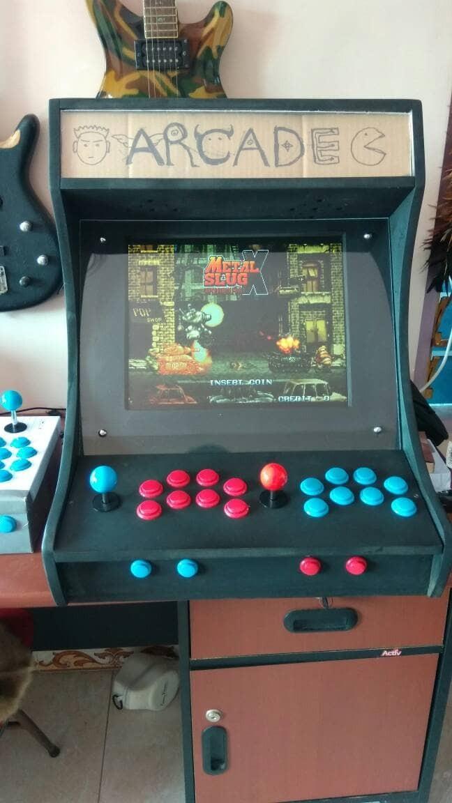 Jual bartop arcade mesin dingdong retro - Kota Madiun ...