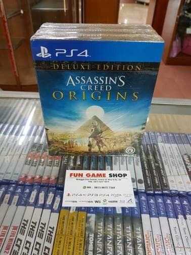 harga Ps4 assassin's creed origins region 3 deluxe edition Tokopedia.com