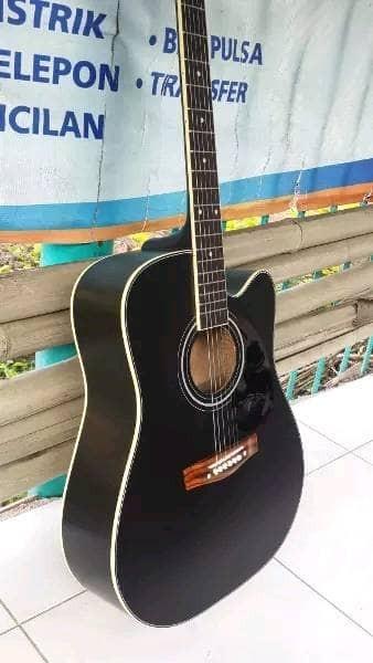 Foto Produk Gitar akustik BLACKDOFF PREMIUM SIPRUS WOOD dari JakartaUndercover.id