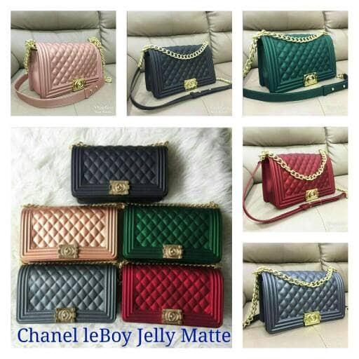 Jual Tas Chanel le Boy Jelly Matte - tas-fashion-88  cfcedd3adf