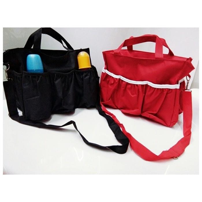 harga Baby diaper bag / tas botol susu bayi(tali panjang & pendek) Tokopedia.com
