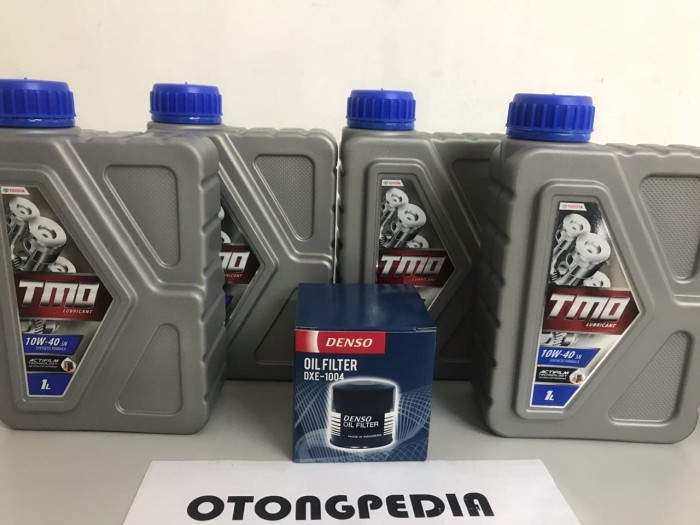harga Promo paket oli + filter toyota corolla / soluna / starlet 89- Tokopedia.com