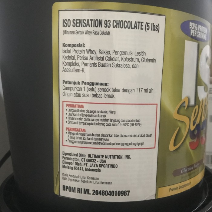 isopure low carb vs iso sensation 93