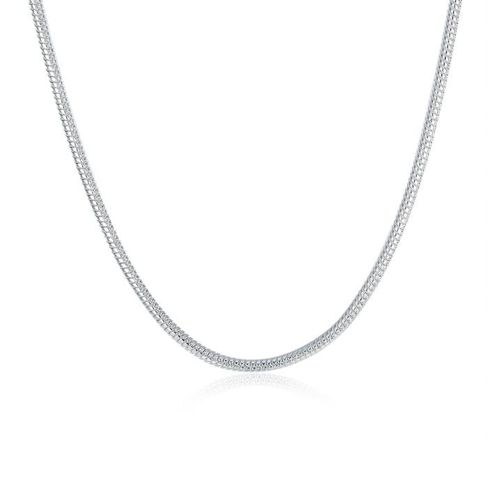 Tiaria neutral geometry kalung lknspcc010-24 silver plated aksesoris