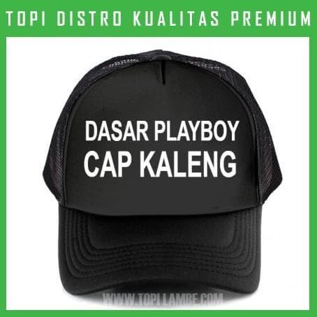 Jual topi DASAR PLAYBOY CAP KALENG Trucker Baseball Snapback TMB815 ... fd4a88cb5f