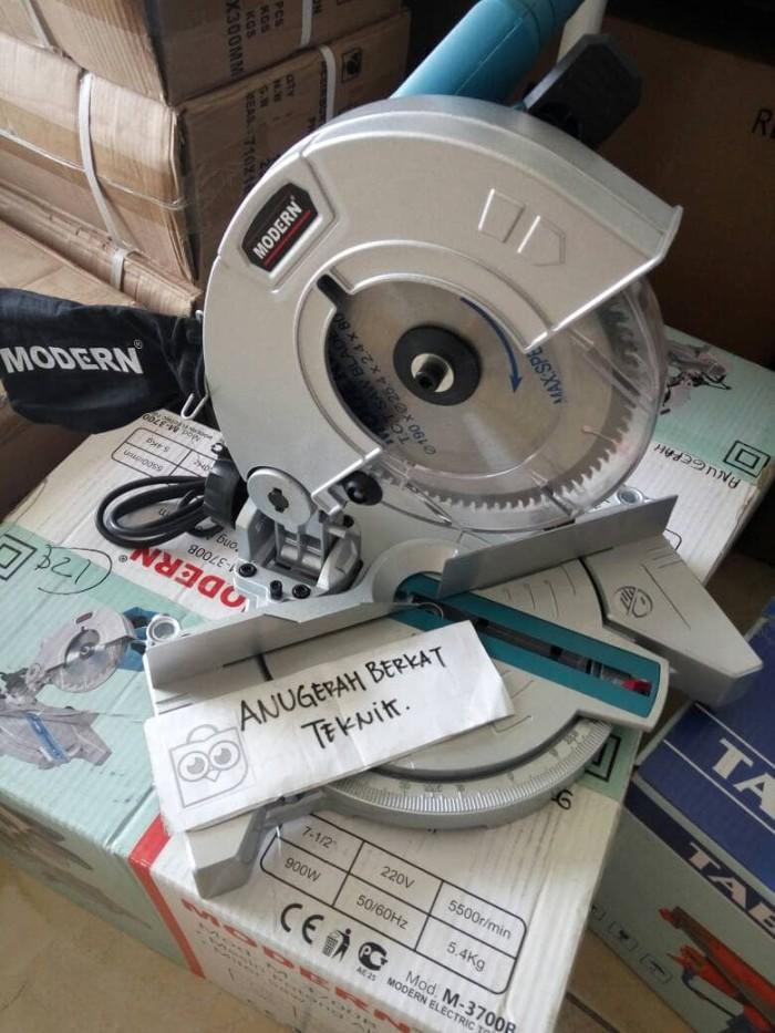 harga Miter saw siku mesin potong alumunium 7 inch modern Tokopedia.com