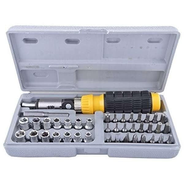 Kunci Sok 41pcs 41 Piece Bit and Socket Set Tool Kit | AIWA
