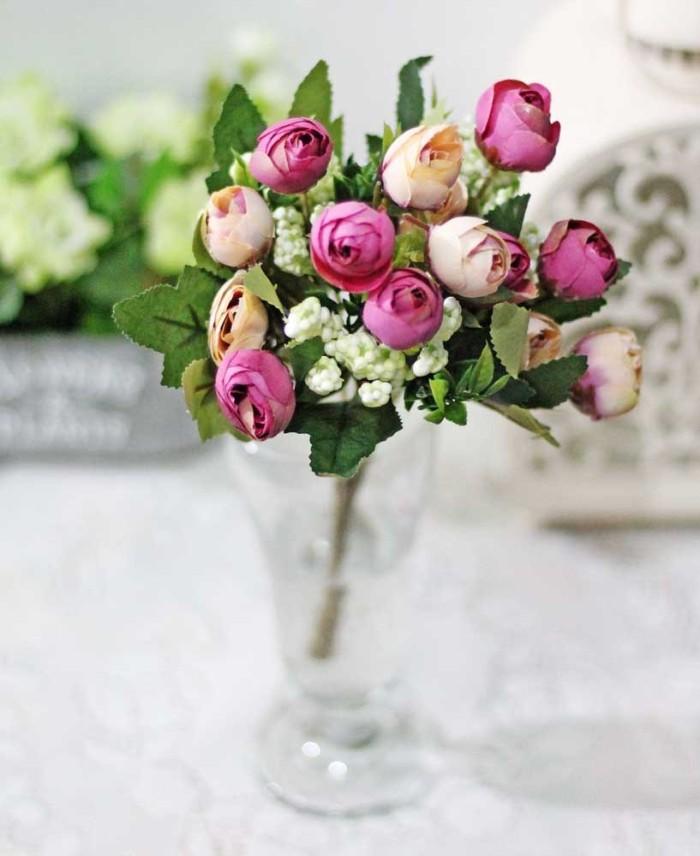 harga Bunga plastik hias artificial artifisial mawar rose kuncup shabby b6 Tokopedia.com