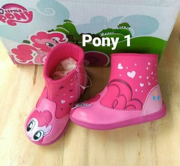 sepatu little pony boot  sepatu boot anak  sepatu anak perempuan 549ea8b921