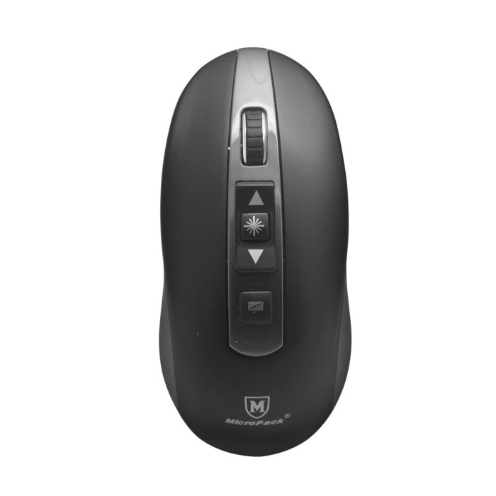 harga Micropack wireless presenter wpm-07 with air mouse - grey Tokopedia.com