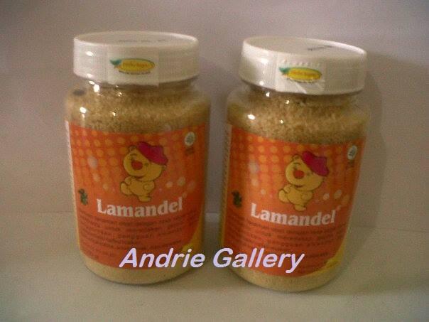 obat herbal alami LAMANDEL Bubuk Obat Herbal Atasi Amandel original