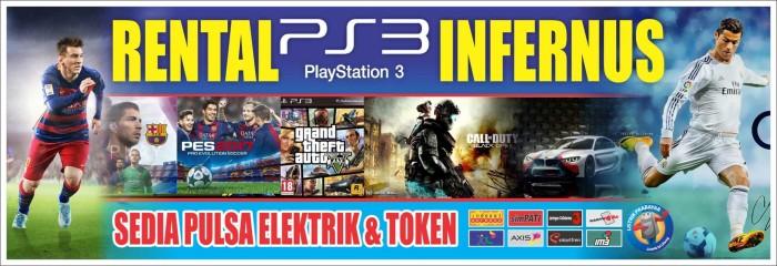 Spanduk Banner Rental Ps Games Online