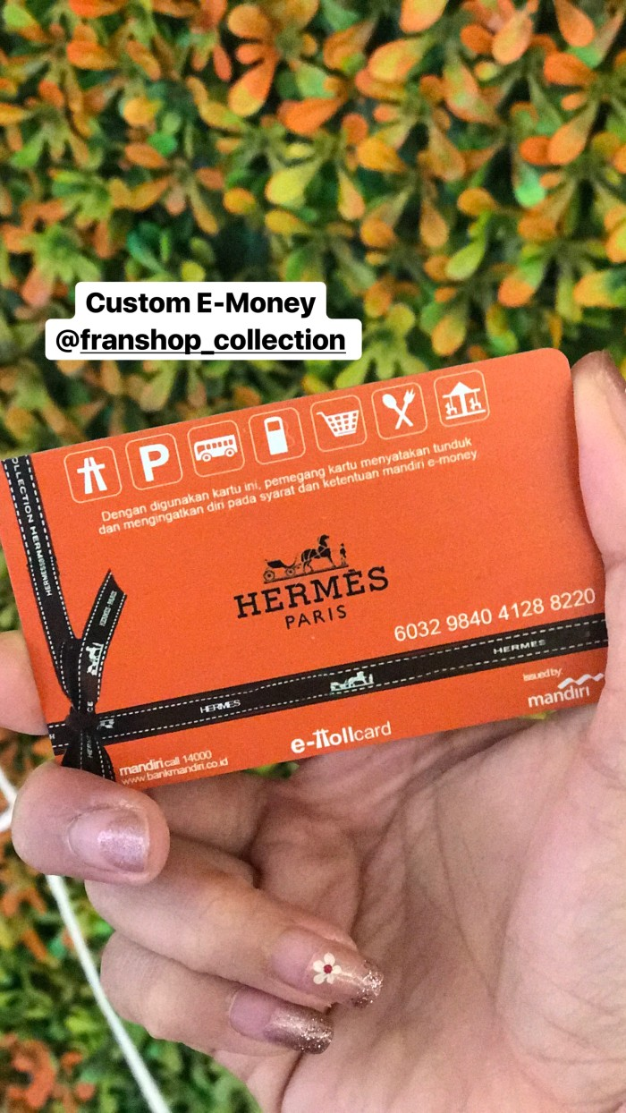 Jual Custom Emoney Etoll Flazz Saldo 20k Print Bolak Balik Kartu E Money Toll