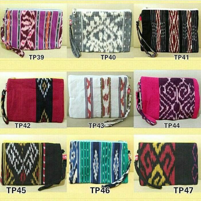 harga Dompet etnik murah ethnic pouch tenun batik tas tangan handbag Tokopedia.com