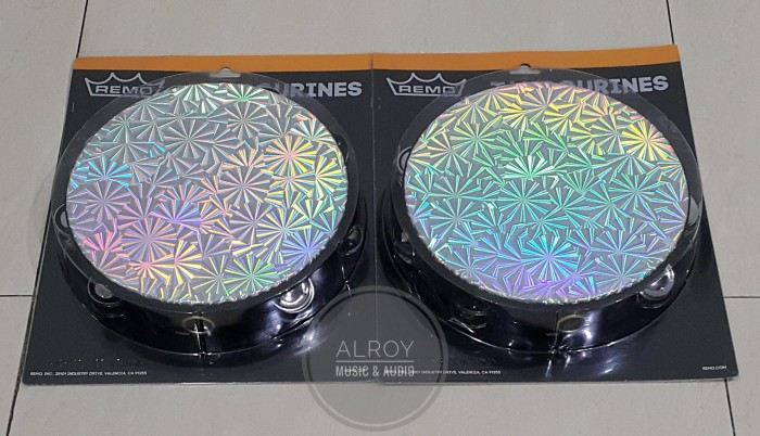 harga Tamborin remo prizmatic pinwheel 10  ta-4210-43 double row Tokopedia.com