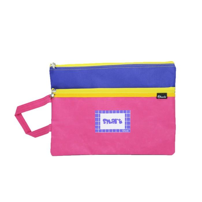 Jual Pouch Uranium 5862 Pink Mix Purple Harga Promo Terbaru