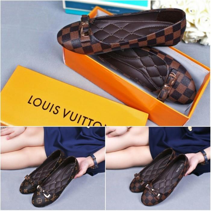 harga Sepatu flatshoes wanita lovvincci lady flats 50420 quality Tokopedia.com