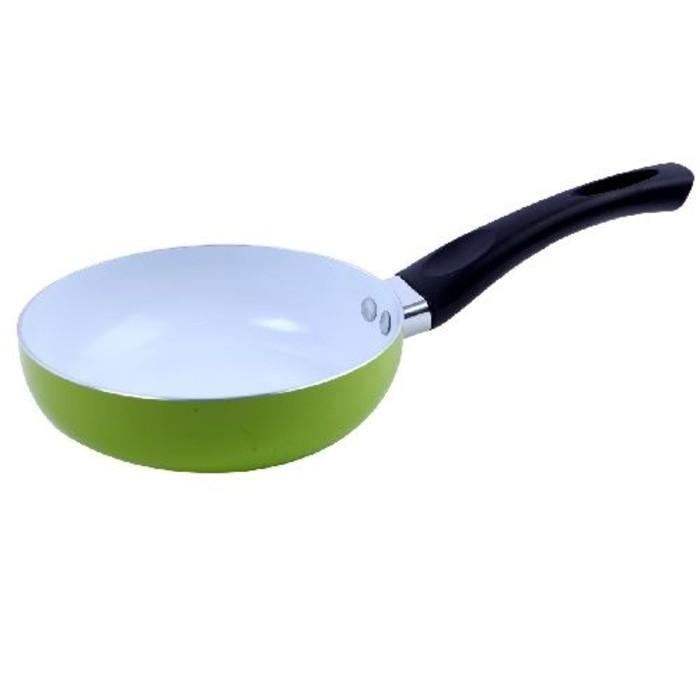 harga Home line deep fry pan ceramic 22 cm - multi colour Tokopedia.com