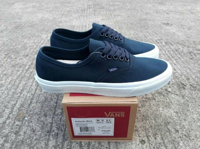 ... harga Sepatu vans authentic moni dress blue wafle dt bnib premium  quality Tokopedia.com f1f5ee3b6c