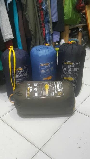 harga sb sleeping bag makalu alpine lite1000 original not consina not rei Tokopedia.com
