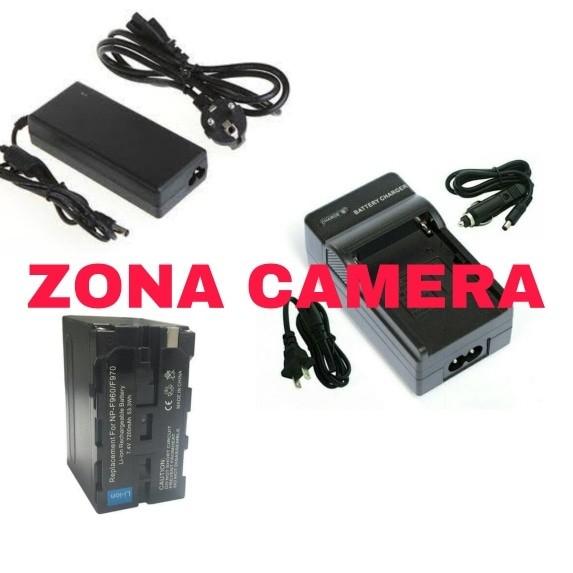harga Paket ac adaptor led + battery np f970 + charger led yongnuo /att/ dll Tokopedia.com