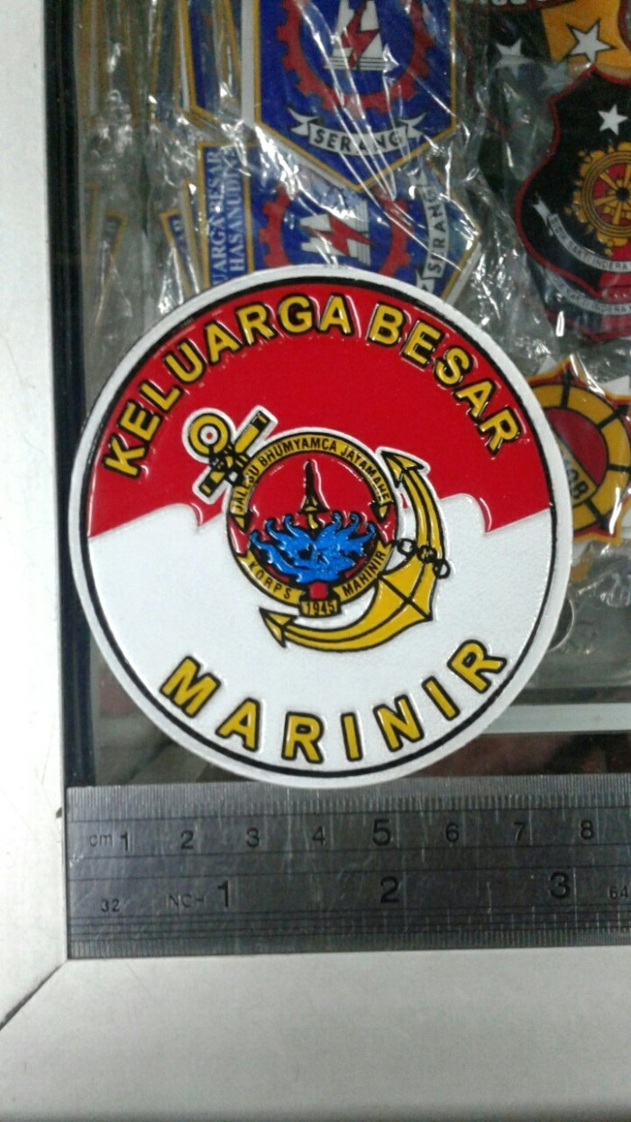 Jual Sticker Keluarga Besar Marinir Jakarta Pusat Cahaya Makmur Jaya