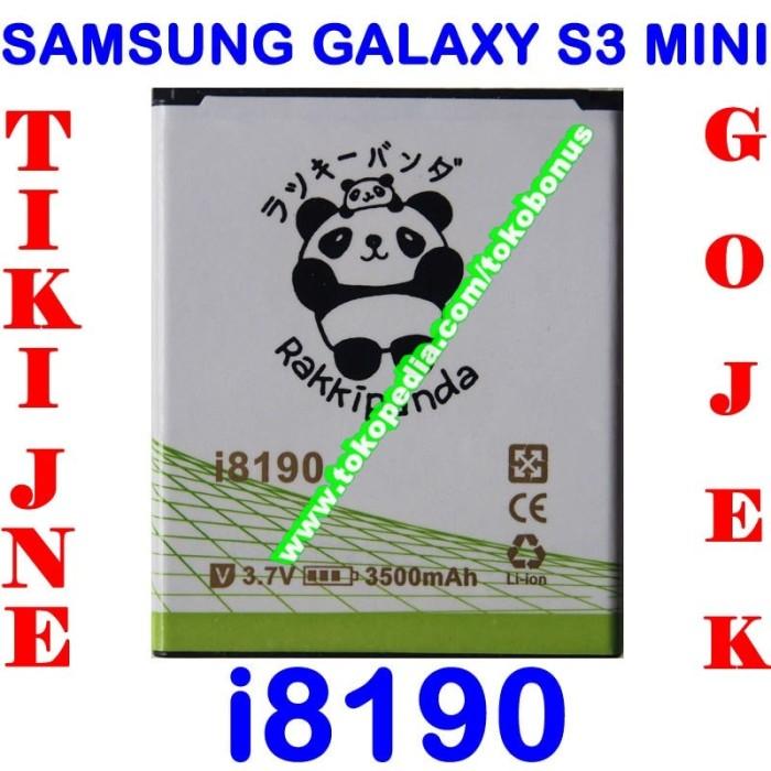 harga Baterai samsung galaxy s3 mini i8190 double power rakki panda Tokopedia.com