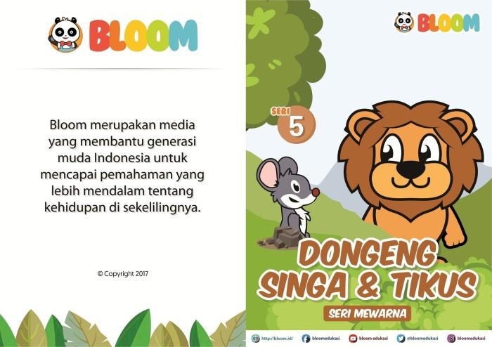 Jual Buku Mewarnai Dongeng Singa Tikus Kota Malang Bloom Indonesia Tokopedia