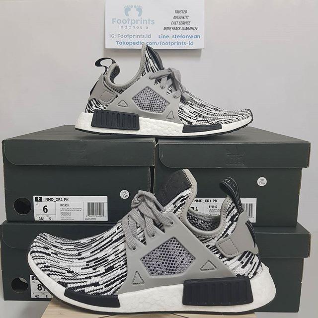 5e1927db3 Jual Adidas NMD XR1 Glitch Camo Oreo 100% Original Sneakers ...