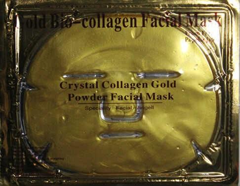 MASKER TOPENG EMAS KOLLAGEN / GOLD 24K COLLAGEN MASK