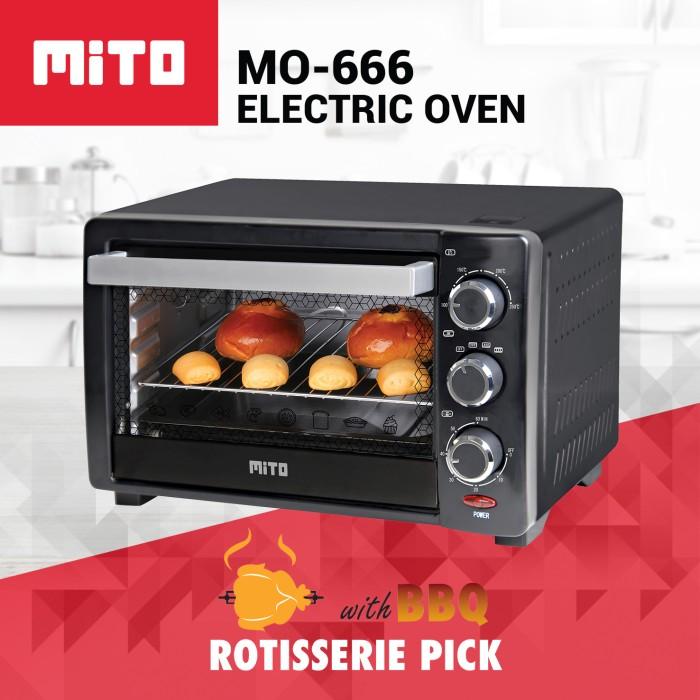 harga Mo 666 electric oven 19l Tokopedia.com