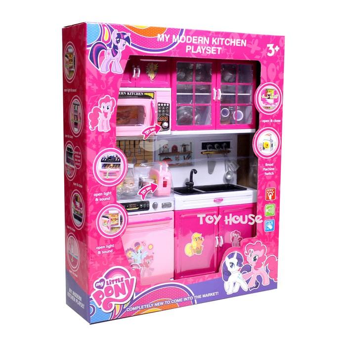 Jual Mainan Anak Kitchen Set My Little Pony Mainan Masak Masakan Jakarta Pusat Olala Lala Store Tokopedia
